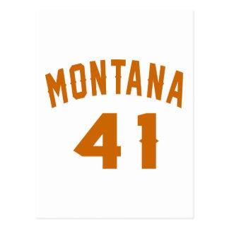 Montana 41 Design van de Verjaardag Briefkaart