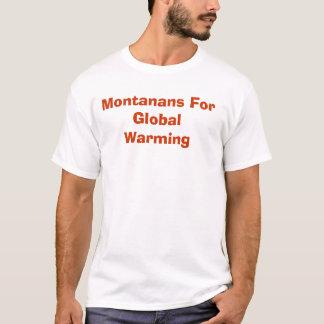 Montanans voor het Globale Verwarmen T Shirt