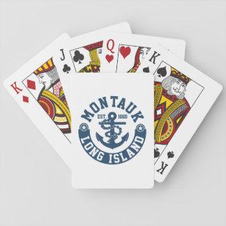 Montauk Long Island Speelkaarten