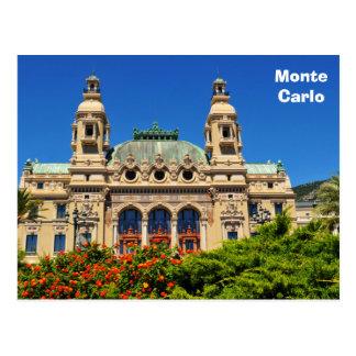 Monte Carlo in Monaco Briefkaart