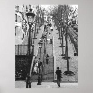 Montemarte, het poster van Parijs