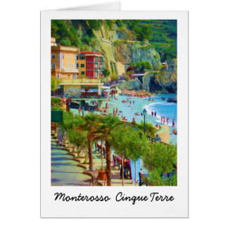 Monterosso, Cinque Terre Italië Kaart