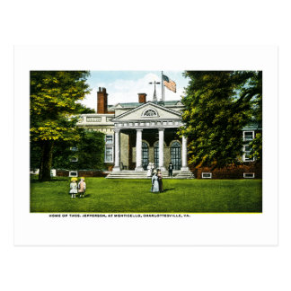 Monticello, Charlottesville, Virginia Briefkaart