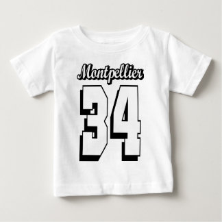 Montpellier 34 baby t shirts