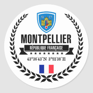 Montpellier Ronde Sticker
