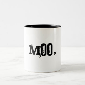Moo. Tweekleurige Koffiemok