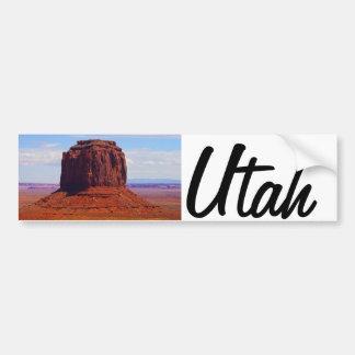 Mooi afbeelding van Utah de V.S. Bumpersticker