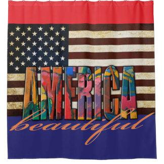 Mooi Amerika Douchegordijn