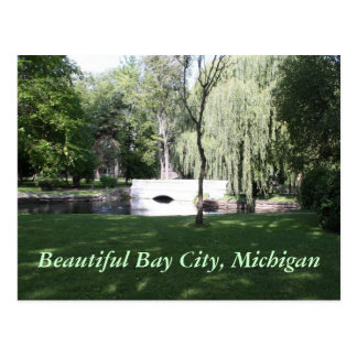 Mooi Bay City, Michigan Briefkaart