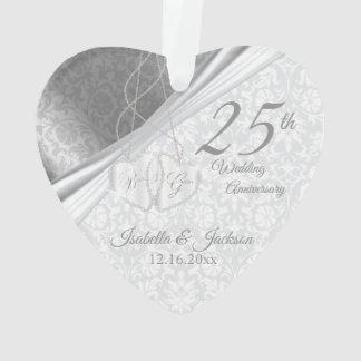 Mooi Damast - het 25ste Jubileum van de Zilveren Ornament
