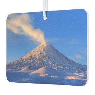 Mooi de winter vulkanisch landschap luchtverfrisser