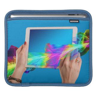 Mooi Horizontaal iPadstootkussen iPad Beschermhoezen