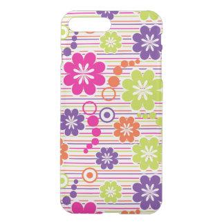 mooi kleurrijk bloemen vectorart. iPhone 7 plus hoesje
