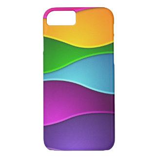 mooi kleurrijk vectorart. iPhone 7 hoesje