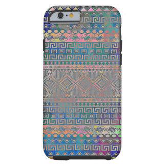 Mooi koel kleurrijk Azteeks geometrisch patroon