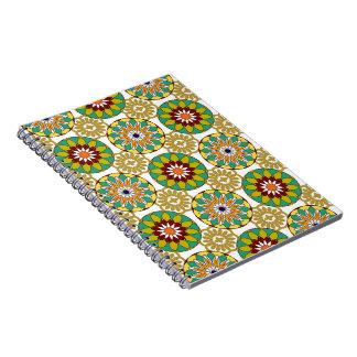 Mooi mandala behandeld notitieboekje notitieboek