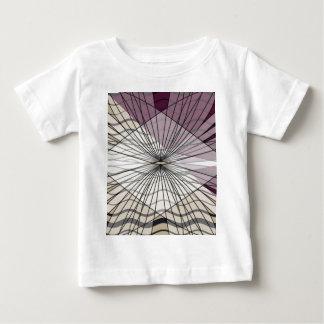 mooi paars patroonontwerp baby t shirts
