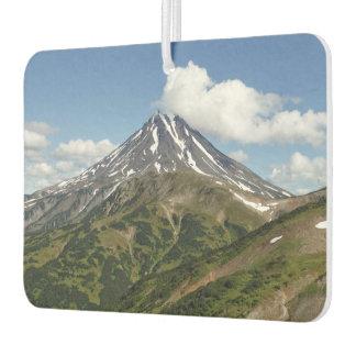 Mooi zomers vulkaanlandschap luchtverfrisser