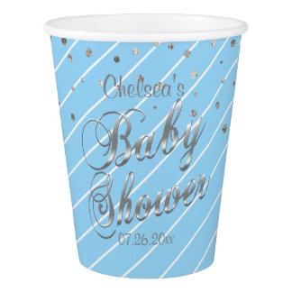 Mooie Blauw en Zilveren - Baby shower