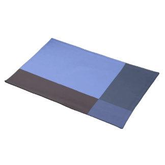 Mooie Blauwe Blokken Placemat