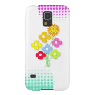 Mooie bloem galaxy s5 hoesje