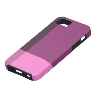 Mooie Blokken van Roze en Wijn Tough iPhone 5 Hoesje