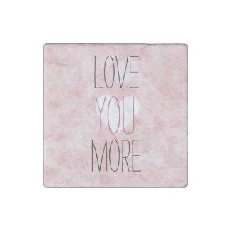 Mooie bloos de Roze Liefde van het Hart van de Stenen Magneet