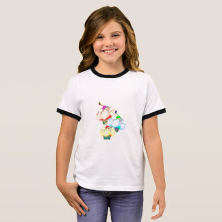Mooie cupcakeplons t shirts