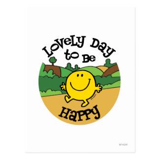 Mooie Dag om M. Happy te zijn Briefkaart