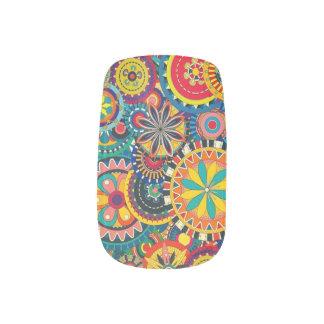 Mooie de Kunst van de spijker, Kleurrijk, Minx Nail Folie