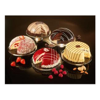 Mooie en Yummy Cakes Briefkaart