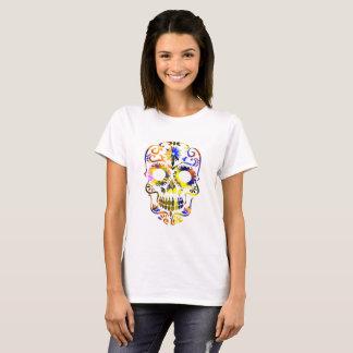 Mooie Fancy Schedel T Shirt