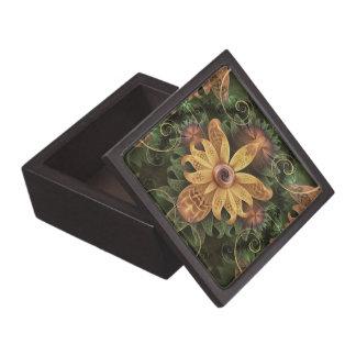 Mooie Filigraan Geoxydeerde Fractal van het Koper Premium Cadeau Doosjes