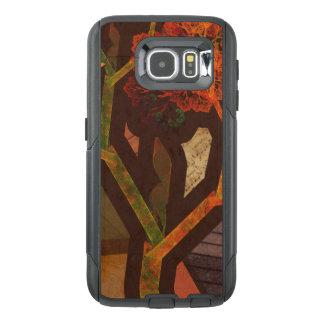 Mooie Fractal Collage van de Herfst van de Origami OtterBox Samsung Galaxy S6 Hoesje