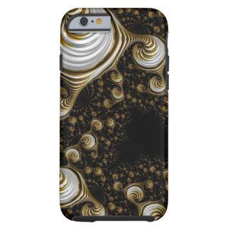 Mooie Fractal Iphone6 van de Room van de Karamel Tough iPhone 6 Hoesje