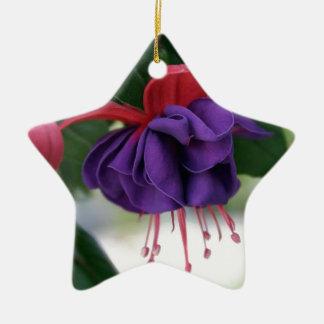 Mooie Fuchsia Keramisch Ster Ornament