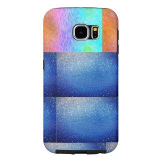 Mooie gedrukte mobiele dekking samsung galaxy s6  hoesje