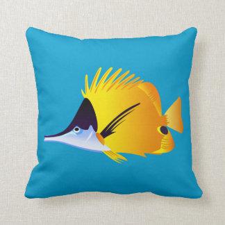 Mooie Gele Tropische Vissen Sierkussen