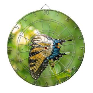 Mooie Gele Vlinder Dartbord