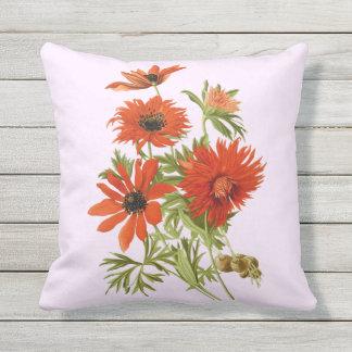 Mooie Gerber Daisy Outdoor Throw Pillow, Buitenkussen