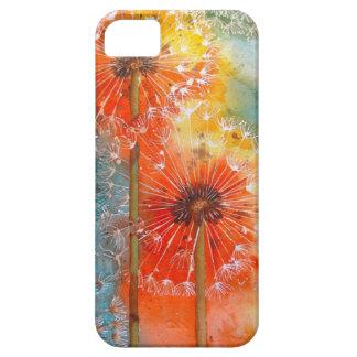 Mooie Geschilderde Paardebloem Barely There iPhone 5 Hoesje