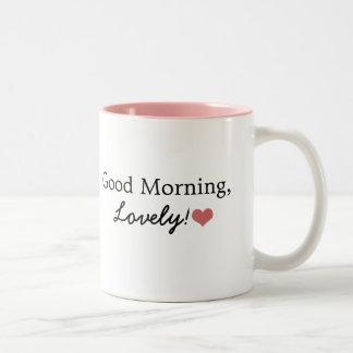 Mooie goedemorgen! De Mok van de koffie