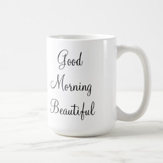 Mooie goedemorgen koffiemok