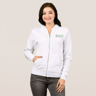 Mooie groene pentacle fluer hoodie
