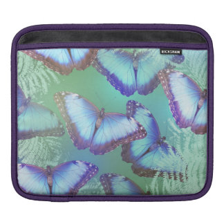 Mooie heldere vlinders sleeve voor iPad