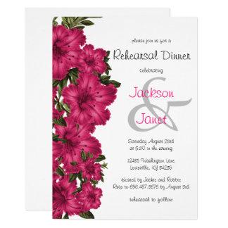 Mooie Hete Roze Lelies - het Diner van de Kaart