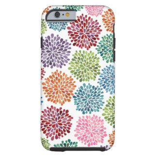 Mooie iPhone 6 van de Bloemen van de Dahlia Tough iPhone 6 Hoesje