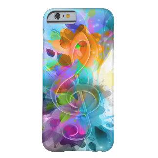 Mooie kleurrijk en koel ploetert muzieknota