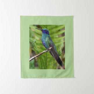 Mooie Kolibrie Wandkleed