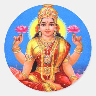 Mooie Lakshmi Ronde Sticker